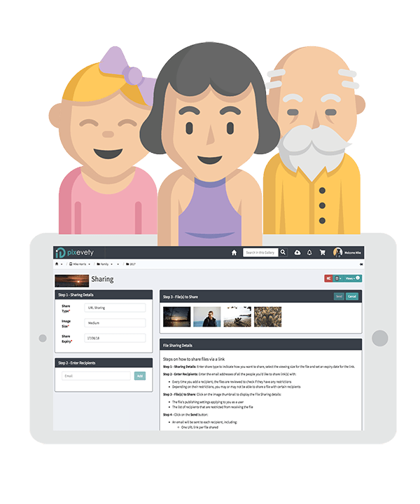 pixevety Photo Management For Individuals | Safely Share with Anyone