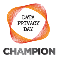 Data Privacy Day Champion Logo | Pixevety Proud Supporters of Data Privacy Day