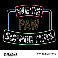 Privacy Awareness Week 2019 | Pixevety Proud Supporters of PAW